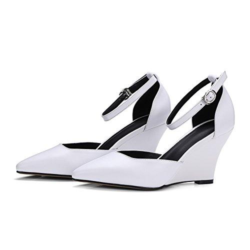 5 1TO9 Inconnu 36 Sandales Compensées Blanc Blanc Femme 0gg4qPyF