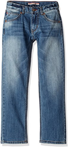 Tommy Hilfiger Denim Blue Jean (Tommy Hilfiger Big Boys' Rebel Stretch Jean, Stone Blue, 16)
