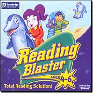Reading Blaster Ages 4 - 6 - Adventure Blaster Knowledge Reading