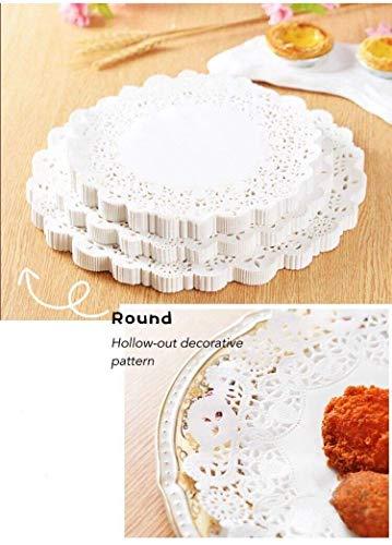APSAMBR-300 PCS5.5/7.5/10.5 INCH Each 100PCS Round Paper Doilies – Decorative, White Lace Doilies, Disposable, Price & Reviews