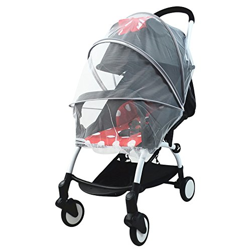 Mosquito Net for Stroller, Leiyini Universal Baby Stroller Mosquito Net High Density Baby Insect Netting (B) by Leiyini