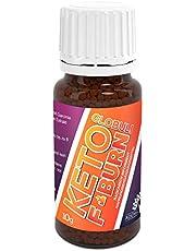 Adema Natural® KETO F Burn Globuli – stofwisseling – extreem snel – hoogwaardige ingrediënten – 10 g inhoud