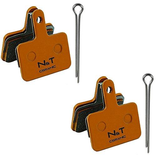 Noah And Theo 2x NT-BP004/CR keramische schijfremmen passen Shimano BR UR300 MT400 MT500 C501 C601 T615 T675 TX805…