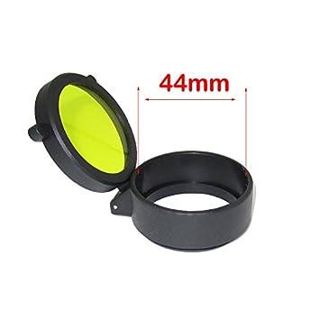 Neu Schutzkappe Flip Zielfernrohrschutz Flip Up Open Eye Scope Abdeckungen Cap