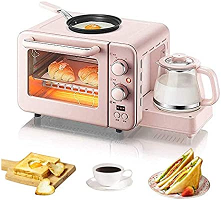 STARAYS Máquina De Desayuno, Mini Horno Eléctrico Multifunción 3 ...