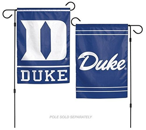 WinCraft NCAA Duke University Blue Devils 12x18 Inch 2-Sided Outdoor Garden Flag Banner