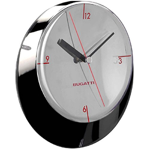 glamour wall clock 33 cm chromed