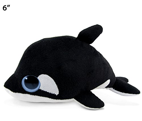 "UPC 184499052051, Big Eye Killer Whale Plush, 6"""