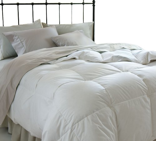 All Season Down Alternative Full/Queen Comforter, White (White Down Comforter Full compare prices)