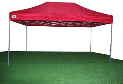 Carpa Plegable 3x4.5 de Acero color Rojo: Amazon.es: Jardín