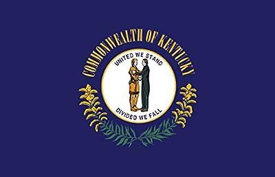 Gallopade Publishing Group Kentucky Flag Poster (9780635115812)