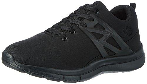 Brütting - Zapatillas de Material Sintético para niño Negro (Schwarz)
