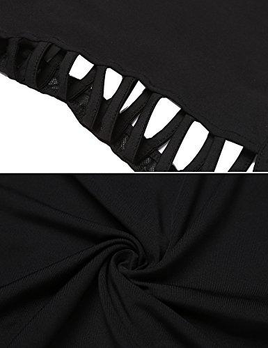 Zeagoo Women's High Waist Stretch Slim Fit Pencil Bodycon Short Mini Skirt Type3-black X-Large by Zeagoo (Image #7)