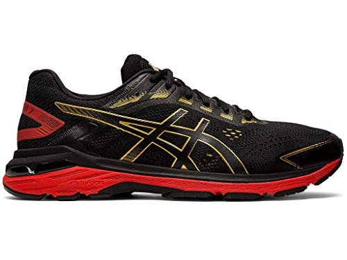 ASICS Men's GT-2000 7 Running Shoes, 10M, Black/Rich