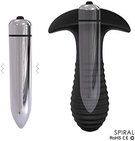 Dildo Vibrador anal Plug Sex Shop Masturbador Vibrador AV ...