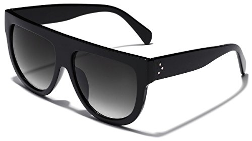 Women's Fashion Flat Top Super Future Sunglasses Retro Vintage - Retro Super