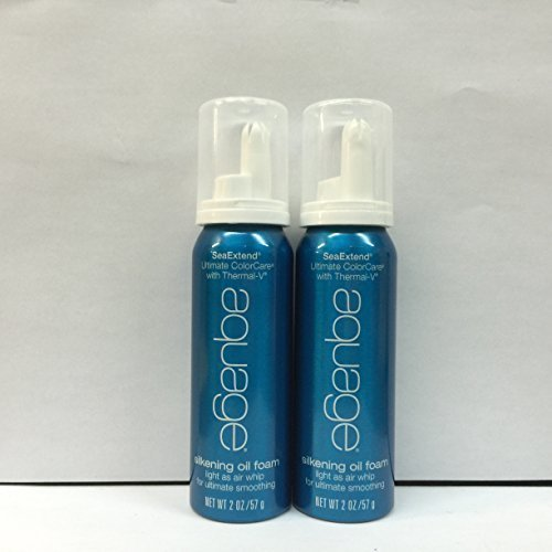 Aquage Sea Extend Silkening Oil Foam Air Whip 2.0 Ounce EACH