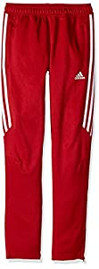 adidas Youth Soccer Tiro 17 Pants, Medium - Power Red/White