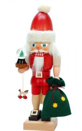Ulbricht Santa Nutcracker (SEIF 52-026 Christian Ulbricht Nutcracker - Santa with snowglobe)