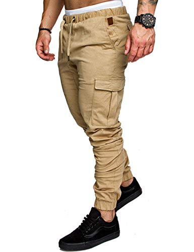 Kbook Men's Jogger Pants Cargo Trousers Sports Twill for sale  Delivered anywhere in USA