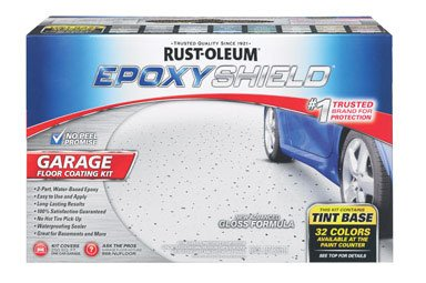 - RUST-OLEUM 252625 Epoxy Shield Gallon Tint Base Garage Floor Kit