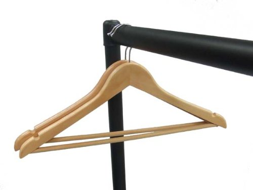 The Shopfitting Shop TALL Clothes Rail 5ft Long x 6ft 6 High Garment Rail HEAVY DUTY Designed for longer garments