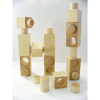 ネフ社の積み木「リグノ 白木 」 B00G33RXK8, 超特価激安 2d2fd6e6