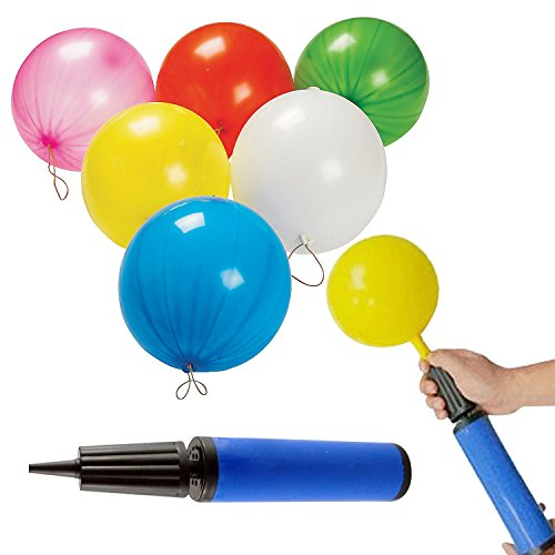 Punch Balloons With Rubber Band Handles Fun Filled Toys Party Favors Kids Toy