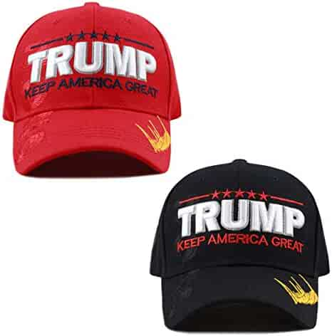 THE HAT DEPOT Exclusive Donald Trump Keep America Great Make America Great  Again 3D Signature 58480ff5ccfe