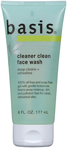 Basis Cleaner Clean Face Wash, 6 Fluid Ounces