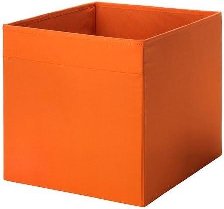 Ikea DRÖNA - Caja (33 x 38 x 33 cm), Color Naranja: Amazon.es: Hogar