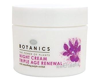 BOOTS Botanics Triple Age Renewal Night Cream