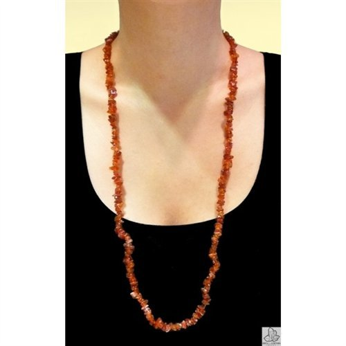 Chip Necklace in Cornelian. ()