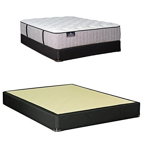 Kingsdown passions expectations plush mattress and 9 box for How long should a bed mattress last