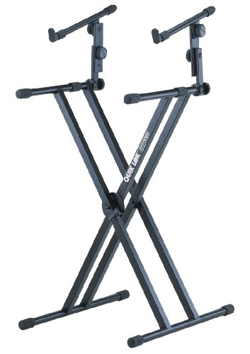 Quik-Lok QL-642 Heavy Duty, Double-Brace ''X'' Keyboard Stand by Quik-Lok