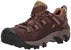 Here's a waterproof hiking boot that offers four-wheel-drive performance for your feet. It's designed to keep your feet dry and let them breathe, and the aggressive outsole bites into the terrain. The mid-cut height adds ankle support.Weight:...
