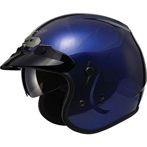Blue Motorbike Helmet - 4