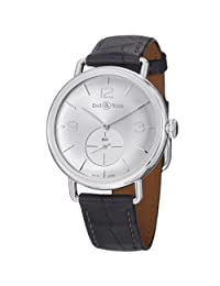 Bell & Ross Men's BRWW1-ARGENTIUM Vintage WW1 Analog Display Swiss Automatic Grey Watch