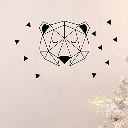 Patrón de oso tonto etiqueta de la pared para habitaciones ...