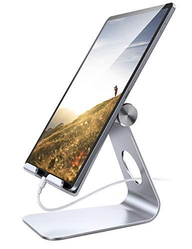 Tablet Stand Adjustable, Lamicall Phone Stand: Desktop Stand Holder Dock