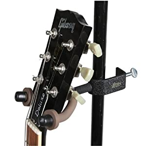 string swing bcc04 mic stand guitar hanger black musical instruments. Black Bedroom Furniture Sets. Home Design Ideas