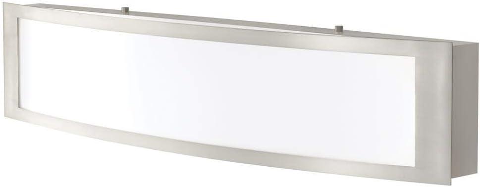 Home Decorators Collection IQP1381L-3 180w LED Bath Light Brushed Nickel (Renewed)