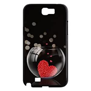 Samsung Galaxy Note 2 N7100 2D DIY Hard Back Durable Phone Case with Loving Image
