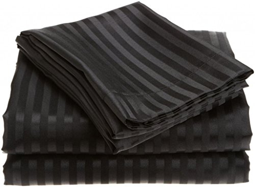 European Comfort Luxury Soft Wrinkle Resistant Striped Queen