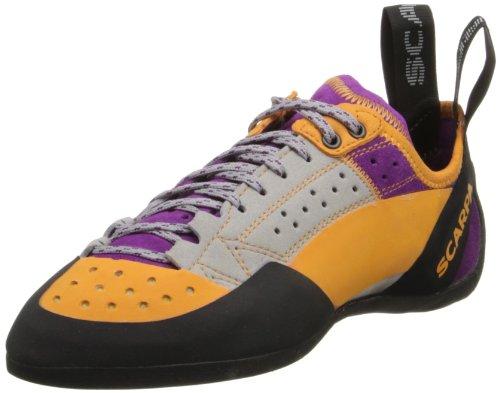 Scarpa Women's Techno X Climbing Shoe,Silver/Petunia,41 EU/8 M US by SCARPA
