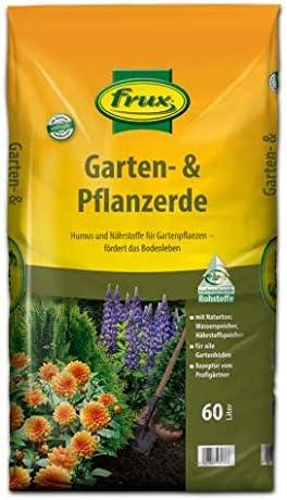 frux Bio - Tierra para jardín y plantas, sin turba, 60 litros: Amazon.es: Jardín