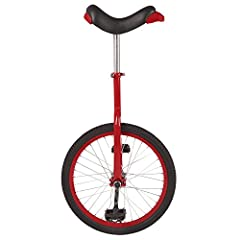 "The Red Fun 20"" unicycle is ideal for the first time unicyclist or the regular rider. The unicycle is a fun and creative way to get exercise. The Fun 20"" Unicycle will not only challenge your coordination but also your balance."