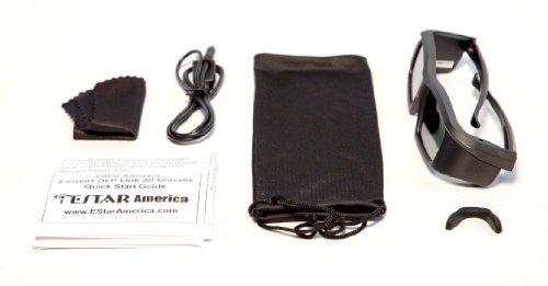 41oL ITd2xL - EStar America ESG601 DLP Link 3D Glasses
