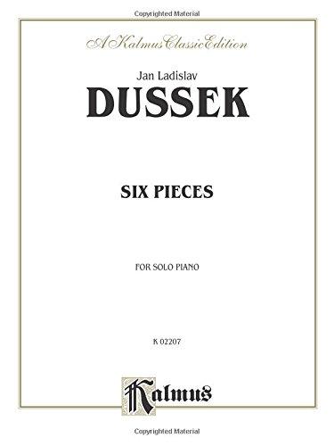 Download Six Pieces (Kalmus Edition) ebook