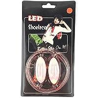 Led Sport Shoe Laces Glow Shoe Strings Round Flash Light Shoelaces Luminous No Tie Lazy Shoe Laces